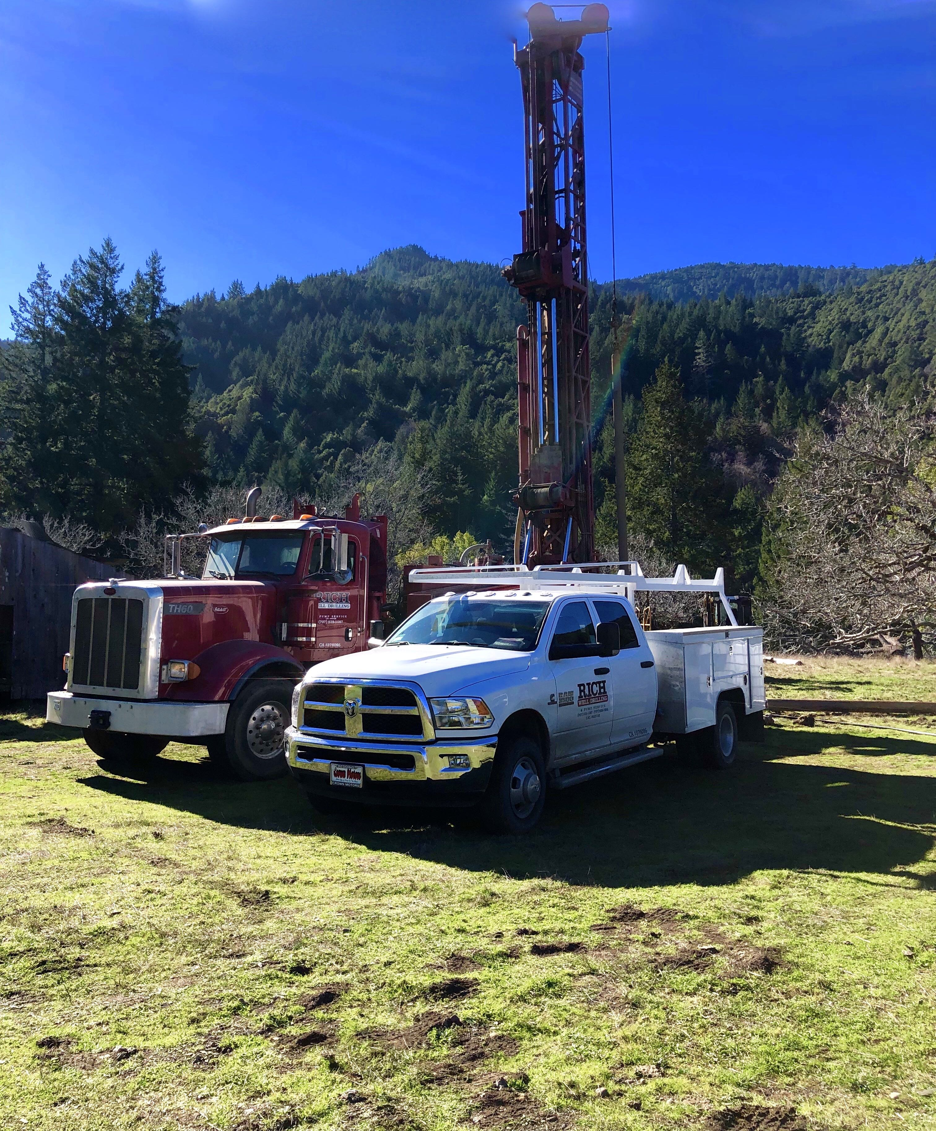 Rich Well Drilling and Pump Services - Humboldt County, CA
